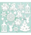 Mintay maderitas chipboard christmas mix mt-chip2-d9
