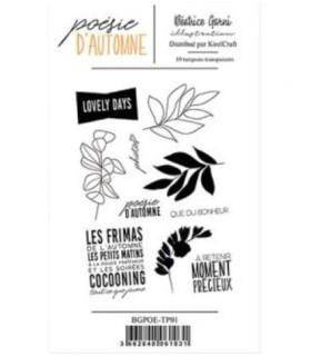 Poesie d'automne set de sellos 1 Beatrice Garni