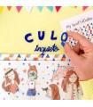 """Piccolina Brava Culo Inquieto metacrilato a mano alzada """"culo inquieto"""" My Sweet Valentine"""