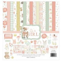 Baby girl Echo Park Paper