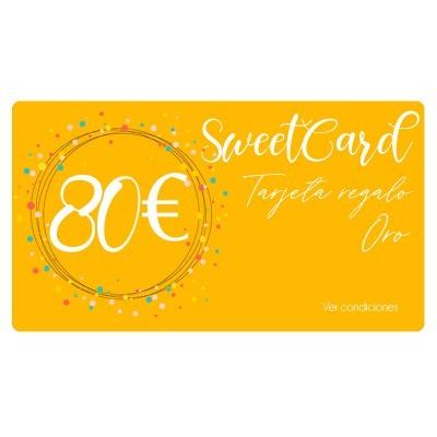 SweetCard Plata - Tarjeta regalo 80€